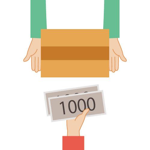 私設私書箱&バーチャルオフィスのGreen Trust Support|代引き・着払い・関税付き郵便物・お荷物の受取時のご注意事項